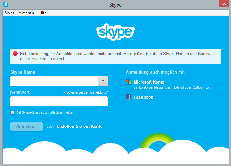 how to delete skype login name on iphone
